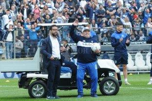 """Maradona: """"Creí que se me iba a reventar el corazón cuando salí a la cancha"""""""