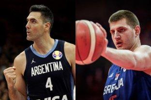 Cuándo juega Argentina ante Serbia por los cuartos de final