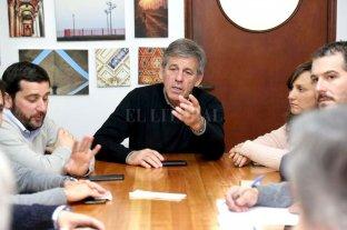 Jatón y su equipo analizaron la deuda de la Municipalidad