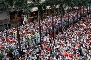 Las protestas causaron en Hong Kong la mayor caída de turistas