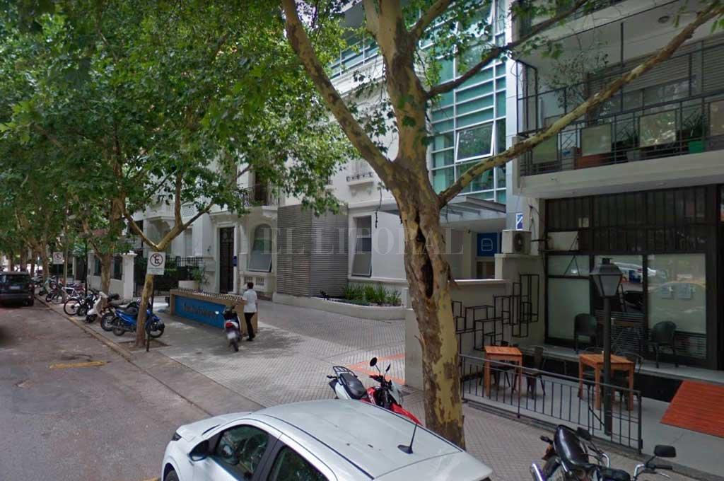 El jefe policial se encuentra internado en un sanatorio privado de la ciudad de Rosario Crédito: Captura de Pantalla - Google Street View
