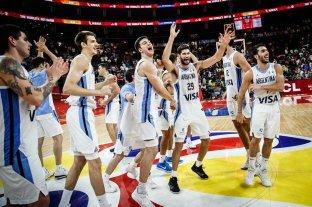 Video: emocionante relato de la victoria de Argentina ante Serbia
