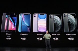 Apple presentó el iPhone 11