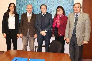 Convenio marco con el Colegio de Magistrados y Funcionarios del Poder Judicial