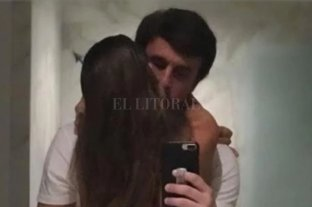 El novio de Pampita publicó una foto de ambos en la intimidad