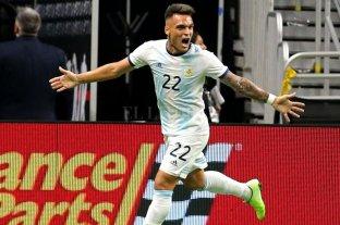 Argentina goleó a México, dirigida por Martino, 4 a 0