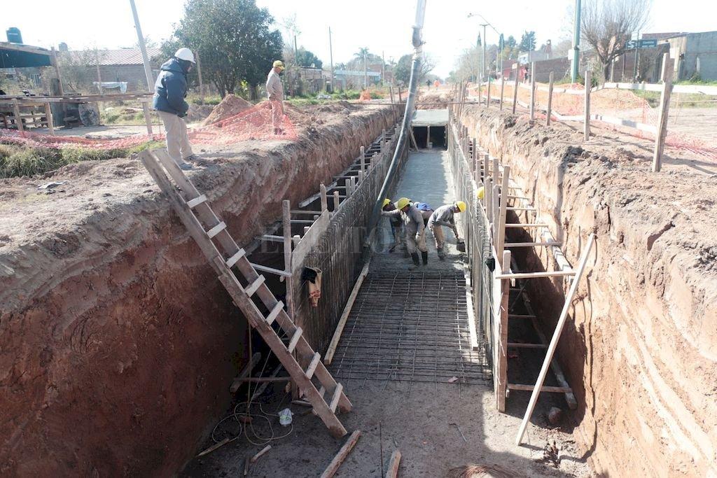 La obra tiene un presupuesto superior a los 160 millones de pesos y es financiado por la Provincia. <strong>Foto:</strong> Gentileza