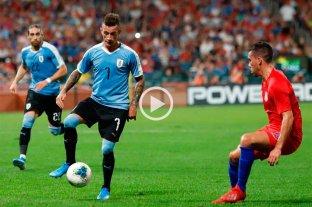 Estados Unidos y Uruguay empataron 1-1