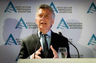"""Macri sobre el cambio climático: """"Es un tema que nos ocupa y nos preocupa""""  -  -"""