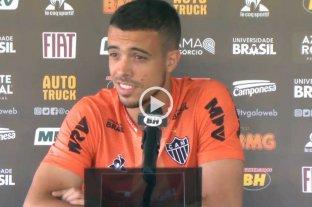 "Di Santo, delantero de Atlético Mineiro: ""Será especial"""