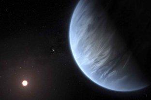 Descubren agua en la atmósfera de un exoplaneta potencialmente habitable