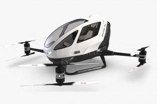 México tiene el primer drone tripulado