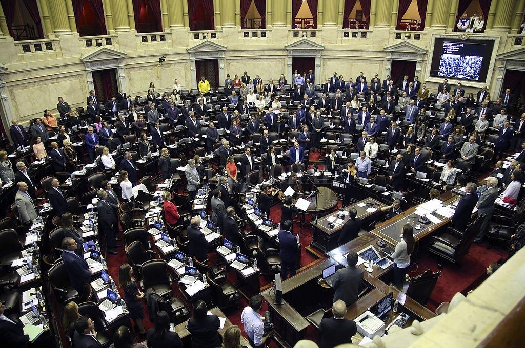Cámara de Diputados del Congreso nacional. Crédito: NA
