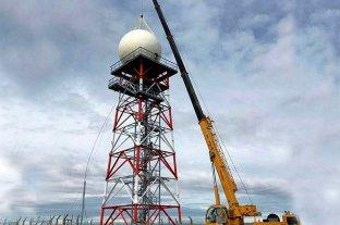 Se inauguró el primer Radar Meteorológico en Tierra del Fuego