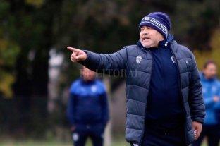 Maradona define el equipo para el debut