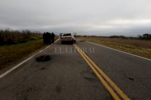 Accidente fatal en la Ruta Provincial 13
