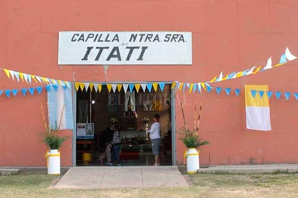 La reja que violentaron los malvivientes para ingresar al templo Crédito: El Litoral