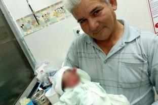 Dieron el alta a Luis Nazareno, el bebé abandonado en un basural
