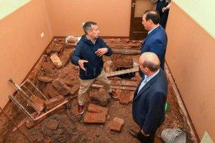 Hallaron en la Legislatura correntina un posible túnel que puede datar del siglo XVII