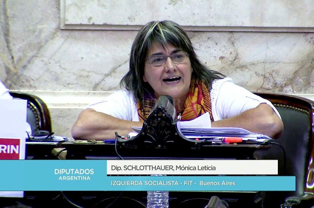 Mónica Schlotthauer. <strong>Foto:</strong> Captura digital