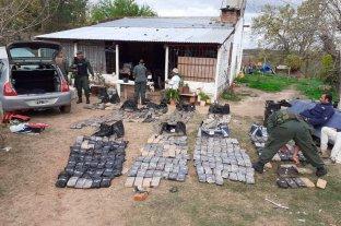 Se conocieron detalles del operativo donde se incautaron 300 kilos en Santa Rosa de Calchines