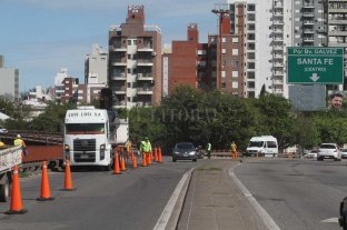 Atención automovilistas: trabajos sobre el puente Oroño