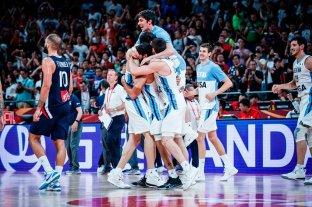 Macri felicitó a la Selección Argentina tras llegar a la final del mundial de básquet -  -