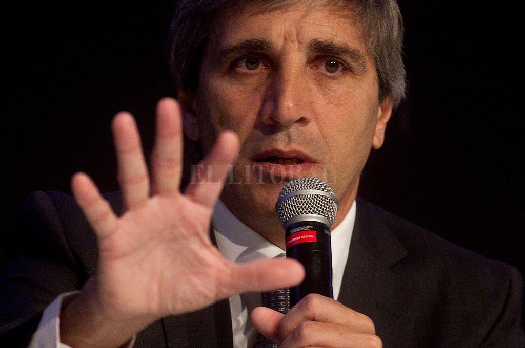 Luis Caputo, ex secretario de Finanzas y ex presidente del Banco Central. <strong>Foto:</strong> Archivo El Litoral