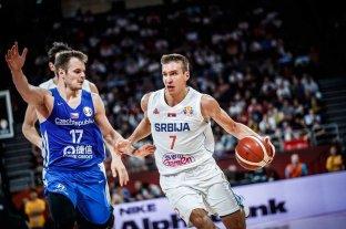 Serbia superó a República Checa y terminó quinto en el Mundial de Básquet