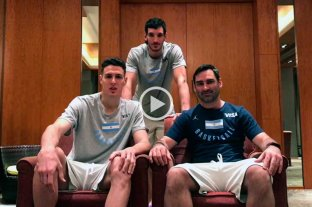 Desde China, los santafesinos de la Selección Argentina mandaron saludos