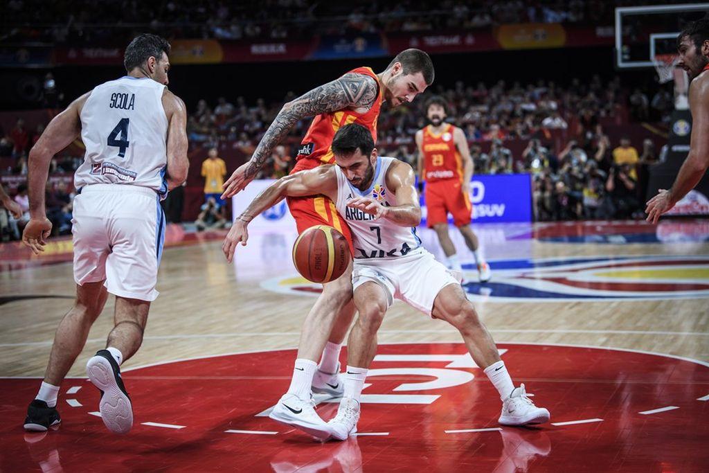 Argentina cayó ante España y es subcampeón del Mundial de China 2019 -  -