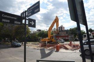 Cómo funciona el drenaje en avenida Freyre y Catamarca -  -