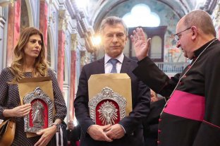 """El mensaje del arzobispo de Salta a Macri: """"Llévate el rostro de los pobres"""" -  -"""