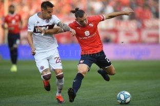 Independiente no aprovechó la ventaja y Lanús se lo empató