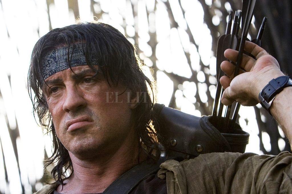 Stallone hizo de Rambo su personaje más representativo, sólo superado por Rocky.  Crédito: Lions Gate Films