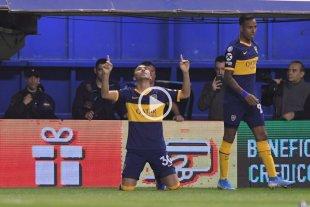 Boca le ganó a Estudiantes y es el único puntero de la Superliga