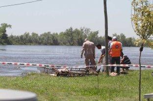 Encontraron un cadáver en aguas de Arroyo Leyes - Imagen ilustrativa