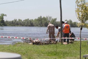 Encontraron un cadáver en aguas de Arroyo Leyes