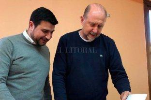 Marcos Cleri se reunió con el gobernador electo Omar Perotti -  -