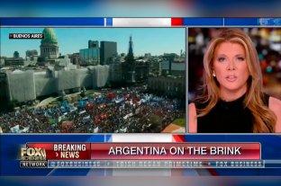 """Para Fox News, Argentina está """"al borde del colapso"""" -  -"""