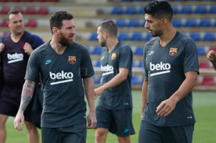 Messi fue convocado para jugar con Barcelona en el debut en la Champions League -  -