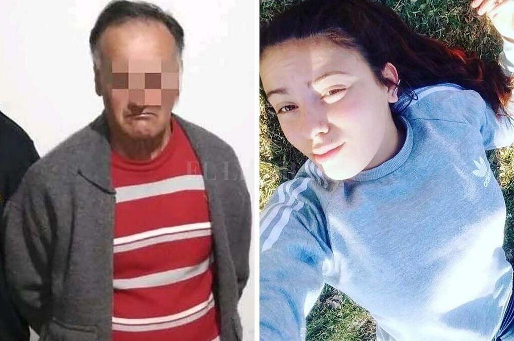Néstor Garay (51), el detenido por el hecho, y Navila Garay (15). Crédito: Telam