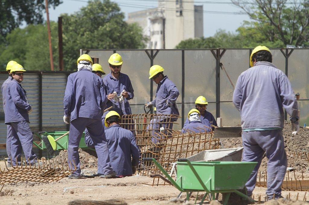 El sector de la construcción es uno de los más afectados por la crisis. Crédito: Archivo El Litoral / Mauricio Garín