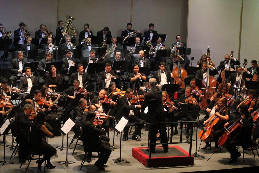 En el que será su concierto de temporada número 12, la Orquesta desandará un repertorio vinculado con el Romanticismo.  <strong>Foto:</strong> Archivo El Litoral / Pablo Aguirre