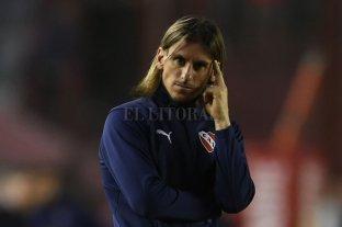 Beccacece marginó a Pablo Pérez y Nicolás Domingo del plantel de Independiente