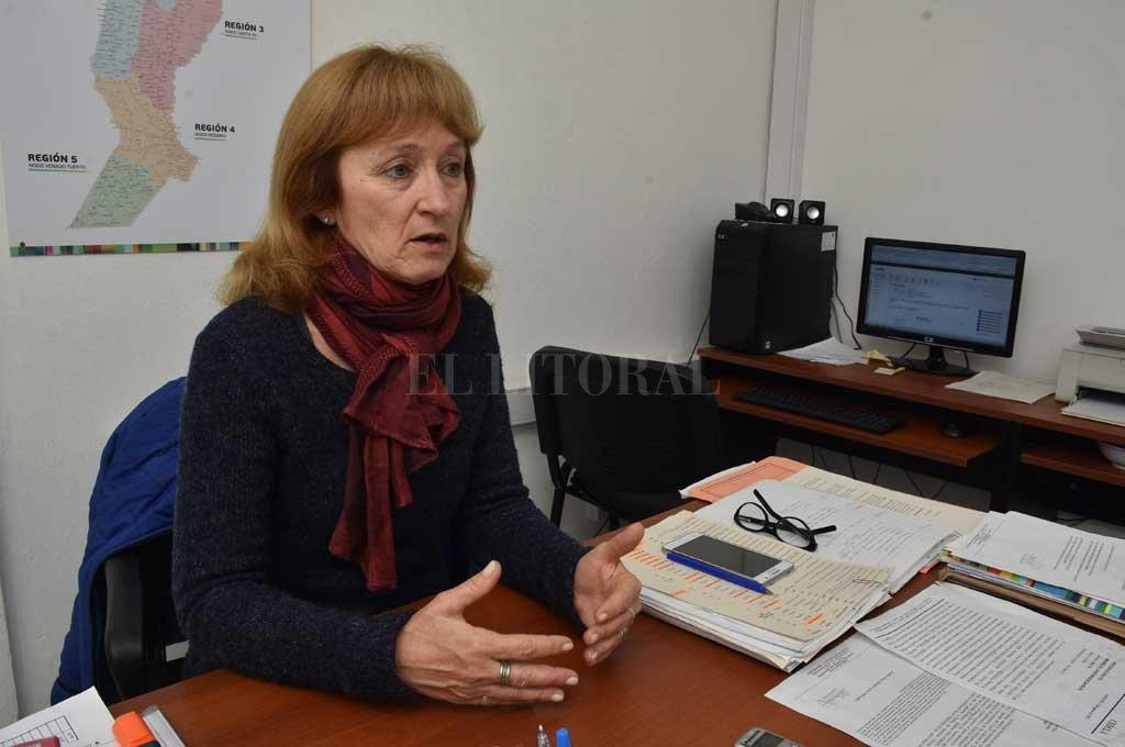 María Eugenia Demiryi, directora provincial de Políticas de Adultos Mayores. <strong>Foto:</strong> Guillermo Di Salvatore