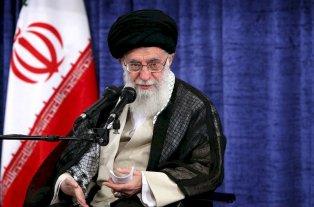 El líder supremo de Irán aseguró que no habrá negociaciones con EEUU