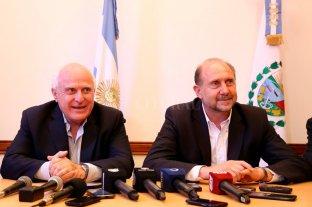 Tensión entre Perotti y Lifschitz no sólo por las cuentas públicas sino también por la seguridad