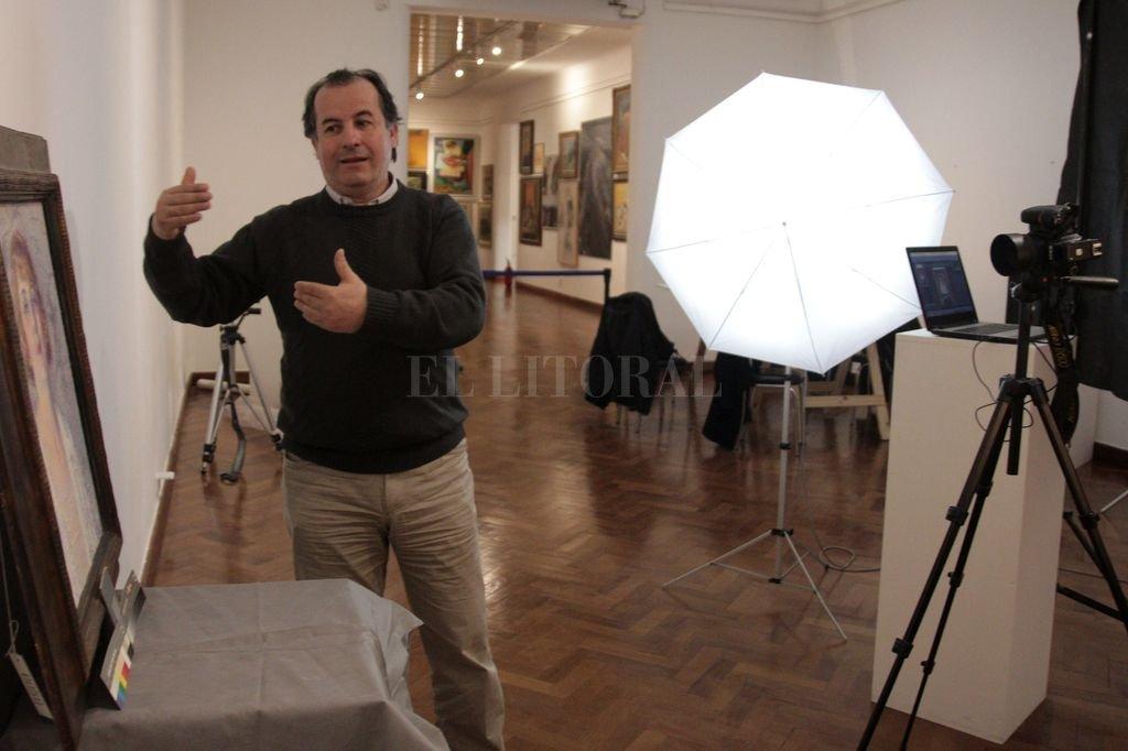 El experto compartirá con el público su experiencia profesional en la reproducción de obras del museo provincial.  <strong>Foto:</strong> Gentileza MIC