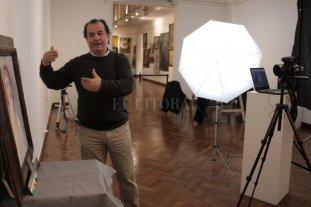 Recorrido colectivo junto al fotógrafo Enzo Mansilla - El experto compartirá con el público su experiencia profesional en la reproducción de obras del museo provincial.  -